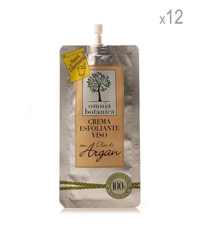 Omnia Botanica Set 12 Piezas De Exfoliante Facial De Aceite De Argán Puro 15 Ml Ud.