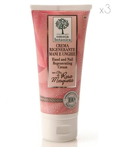 Omnia Botanica Set 3 Crema de Manos y Uñas Regeneradora  de Rosa Mosqueta