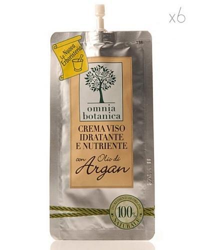 Omnia Botanica Set 6 Crema Facial Hidratante y Nutritiva de Aceite de Argán