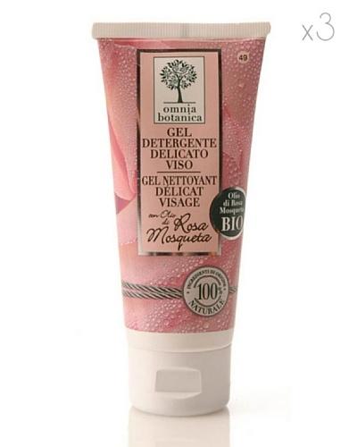 Omnia Botanica Set 3 Gel Facial Limpiador  de Rosa Mosqueta
