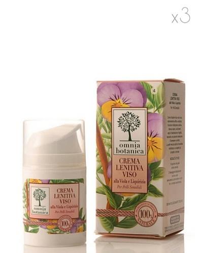 Omnia Botanica Set 3 Crema Facial Calmante de Violeta y Regaliz