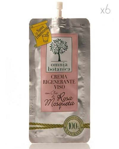 Omnia Botanica Set 6 Crema Facial Regeneradora  de Rosa Mosqueta