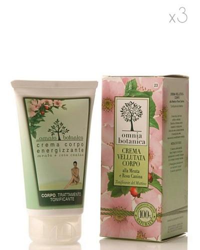 Omnia Botanica Set 3 Crema Corporal Reafirmante de Menta y Rosas Silvestres