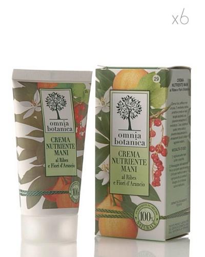 Omnia Botanica Set 6 Crema de Manos Nutritiva de Azahar