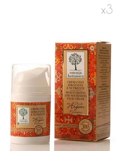 Omnia Botanica Set 3 Crema Facial Hidratante y Nutritiva de Aceite de Argán