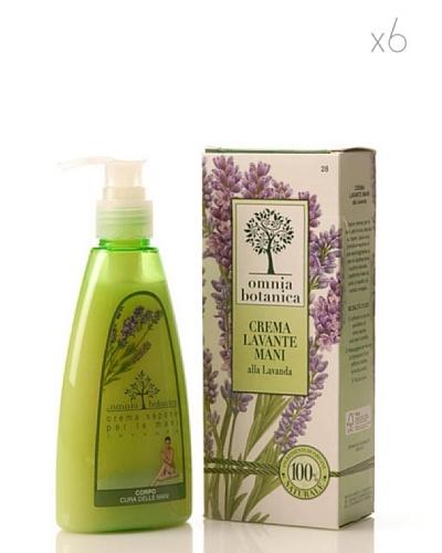 Omnia Botanica Set 6 Crema de Manos de Lavanda