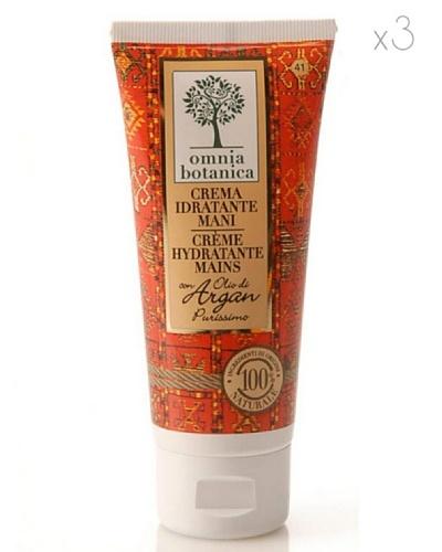 Omnia Botanica Set 3 Crema de Manos Hidratante de Aceite de Argán