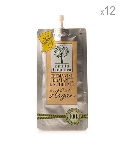Omnia Botanica Set 12 Piezas De Crema Facial Hidratante De Aceite De Argán Puro 10 Ml Ud.