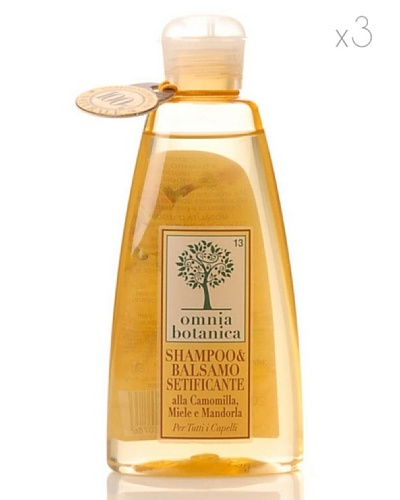 Omnia Botanica Kit 3 Champú 2 en 1 200 ml