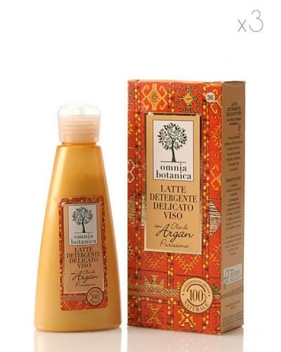 Omnia Botanica Set 3 Leche Facial Limpiadora de Aceite de Argán