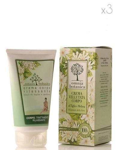 Omnia Botanica Set 3 Crema Corporal Relajante de Linden y Melissa