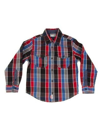 Timberland Camisa Cuadros Bolsillos