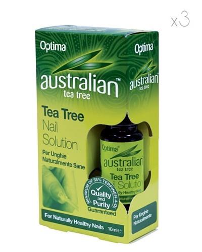 Dr.Organic Set 3 Unidades Solución del Árbol del Té Para Uñas 10 ml (u)