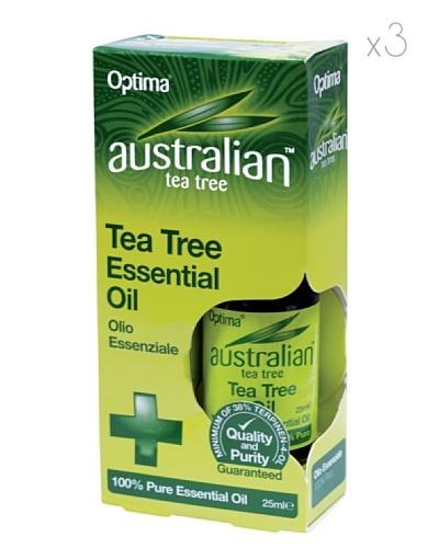 Dr.Organic Set 3 Unidades Aceite Esencial de Árbol del Té 25 ml (u)