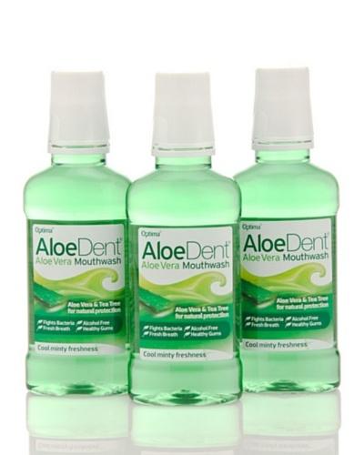 Dr.Organic Set 3 Unidades Colutorio Aloedent 250 ml (u)