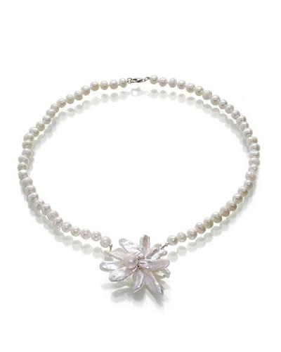 Orchira Collar Floral Odyssy Blanco