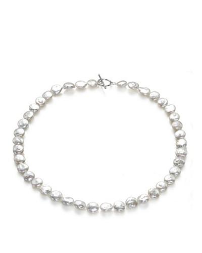 Orchira Collar Button Frost Blanco