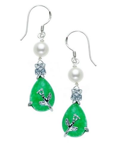 Orchira Pendientes Jade obsession Blanco