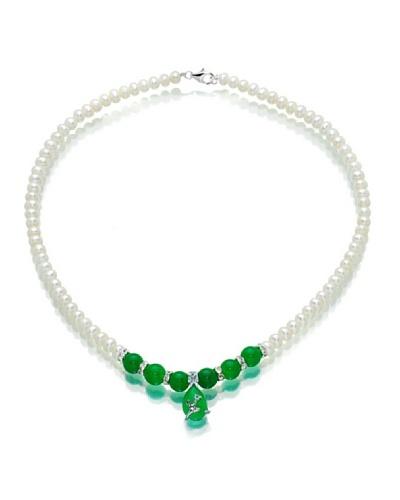 Orchira Collar Jade obsession Blanco