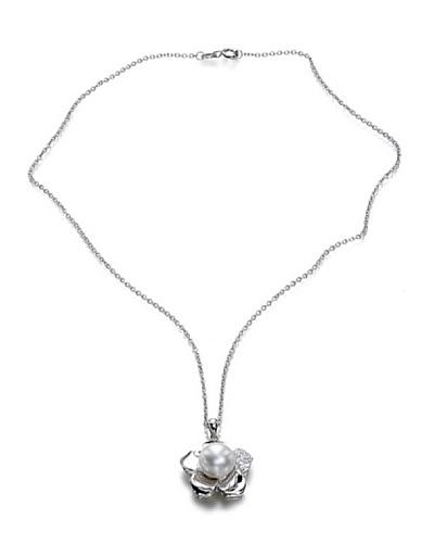 Orchira Collar Lucky Clover Blanco