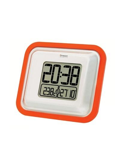 Oregon Scientific Reloj de pantalla grande con temperatura interior