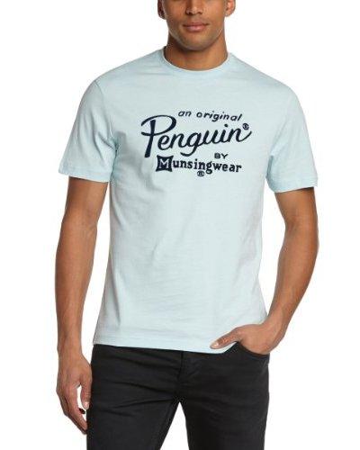 Original Penguin Camiseta Castellaneta Marina Azul Celeste