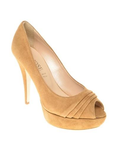 Osmose Zapatos Peep-Toe Ayleen Marrón
