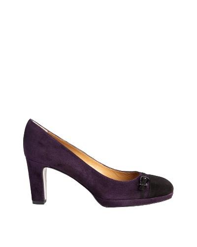 Paco Herrero Zapatos Bicolor con Hebilla