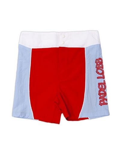 Padel Lobb Bermuda Rio Rojo / Azul / Blanco