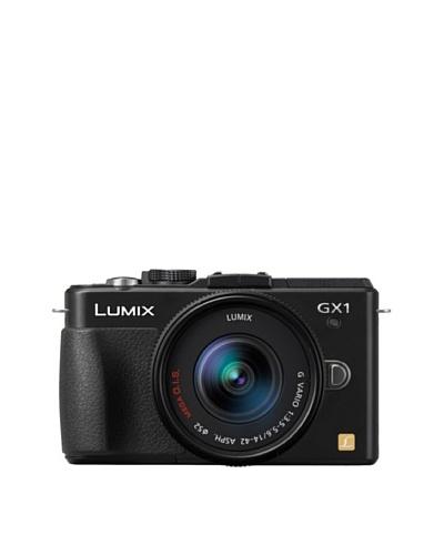 Panasonic Cámara de fotos réflex digital Lumix DMC-GX1KEF-K negro