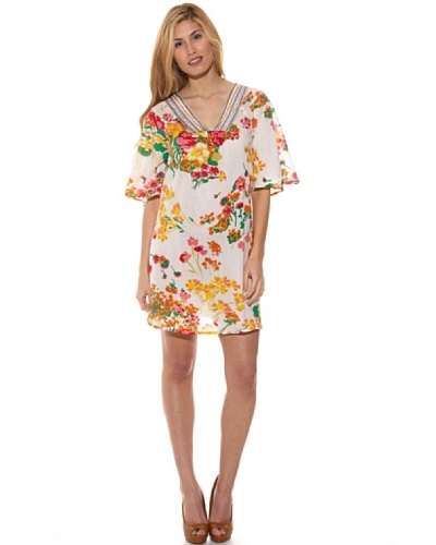 Peace & Love Vestido Estampada