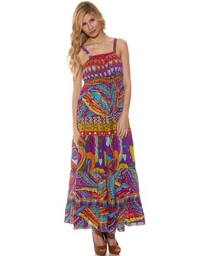 Peace & Love Vestido Estampado