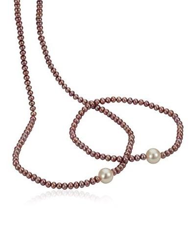 Pearl Dreams Conjunto collar + pulsera A2312-Set-lila-SIR_76-