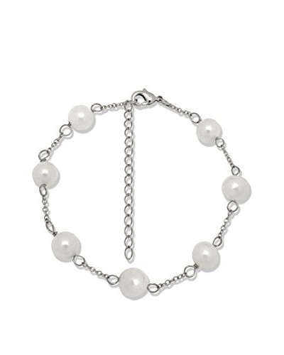Pearls Of London Pulsera 60130086 Blanco