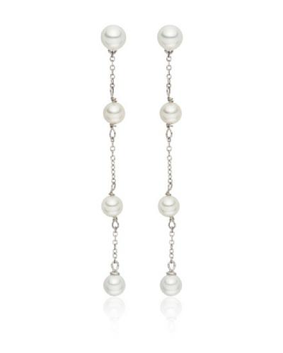 Pearls of London Pendientes Ines Blanco