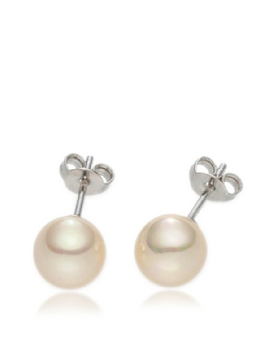 Pearls of London Pendientes Terra Beige