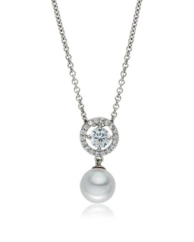 Pearls of London Colgante Cella Blanco