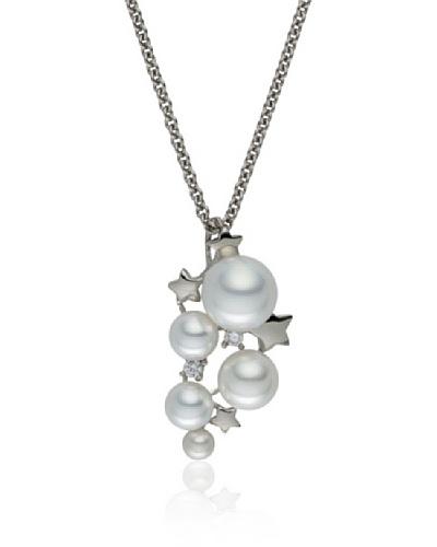 Pearls of London Colgante Pietra Blanco