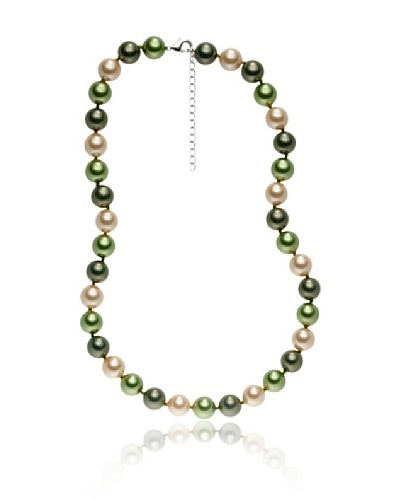 Pearls of London Collar Gina Verde / Jade / Champagne