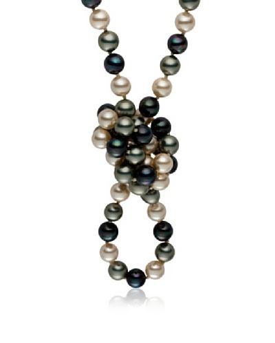 Pearls of London Collar Terza Antracita / Verde / Champagne