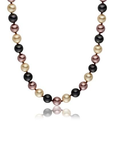 Pearls of London Collar Abrielle Gris / Crema / Canela