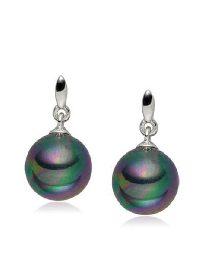 Pearls of London Pendientes Maurizia Antracita