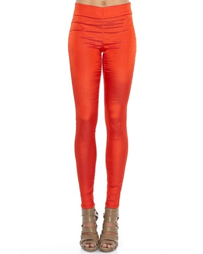 Pedro Del Hierro Leggings Brillo Rojo