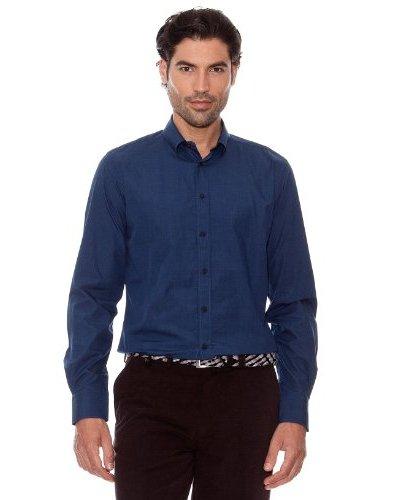 Pedro Del Hierro Camisa Lisa Azul Marino