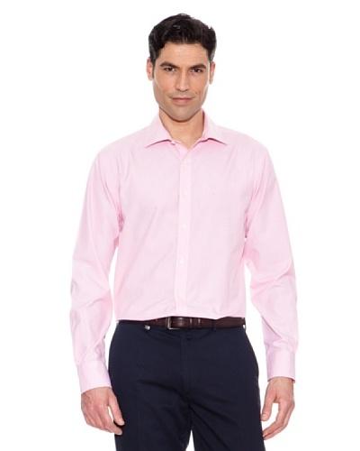 Pedro Del Hierro Camisa Fil A Fil Rosa
