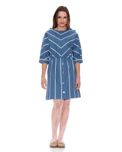 Pepa Loves Vestido Regina Azul