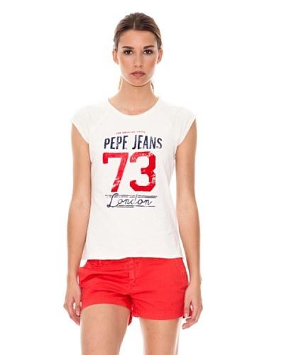 Pepe Jeans London Camiseta Burgess Crudo