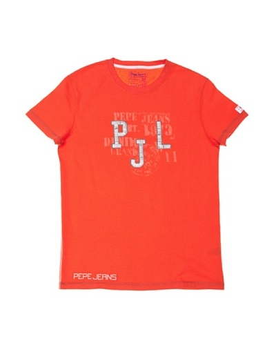 Pepe Jeans London Camiseta Angus Rojo