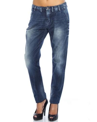 Pepe Jeans London Pantalón Vaquero Chintz Azul Oscuro