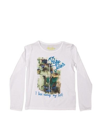 Pepe Jeans London Camiseta Massari Blanco
